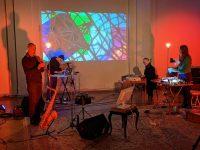 Radiolux & Korhan Erel | recording session | Kulturnhalle Leipzig, 5.12.2020