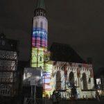 transformed city dreams – 180° Projektion am Römer/Frankfurt